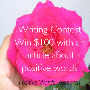 Writing Contest Image Credits: http://positivewordsresearch.com/writing-contest-win-100-with-an-article-about-positive-words/